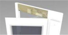 Concealed automatic door opener